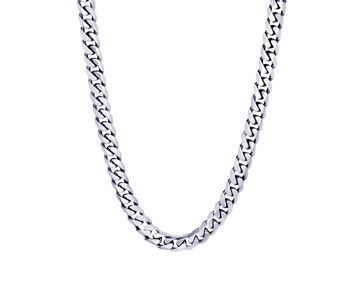 Italgem Men's 7.7mm Stainless Steel Chain