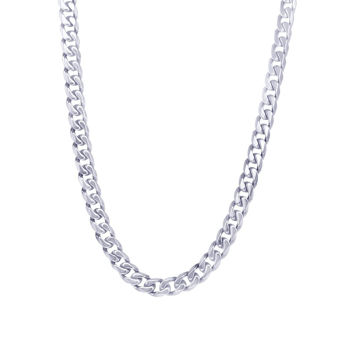 Italgem Men's 4.6mm Stainless Steel Chain