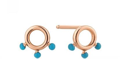 Ania Haie Dotted Circle Stud