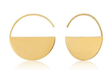 Ania Haie Geometry Hoop Earrings