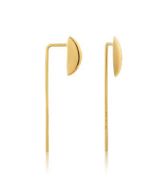 Ania Haie Geometry Solid Drop Earrings