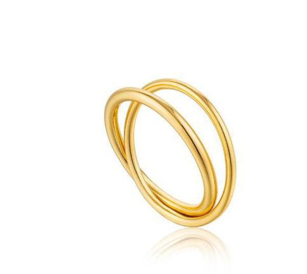 Ania Haie Modern Double Wrap Ring