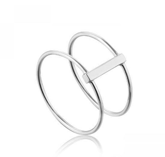 Ania Haie Modern Double Ring