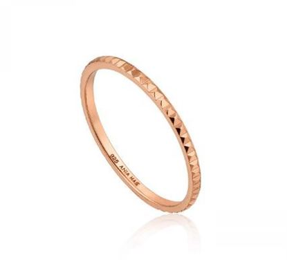 Ania Haie Textured Band Ring