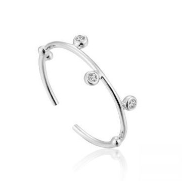 Ania Haie Shimmer Stud Adjustable Ring