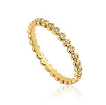Ania Haie Shimmer Half Eternity Ring