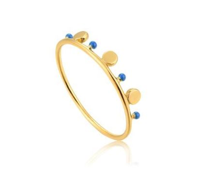 Ania Haie Dotted Triple Disc Ring