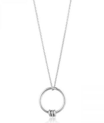 Ania Haie Modern Circle Necklace