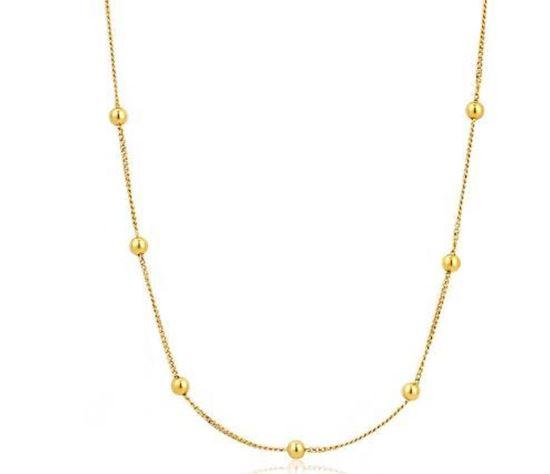 Ania Hai Modern Beaded Necklace