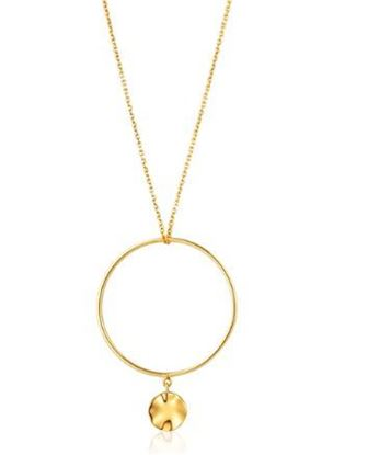 Ania Haie Ripple Circle Necklace
