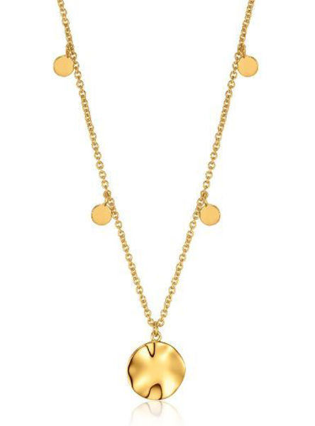 Ania Haie Ripple Drops Discs Necklace