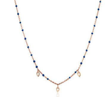 Ania Haie Dotted Triple Raindrop Necklace
