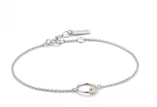 Ania Haie Orbit Chain Circle Bracelet