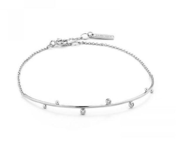 Ania Haie Shimmer Sold Bar Stud Bracelet