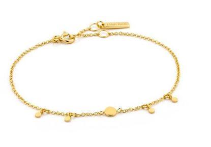 Ania Hai Geometry Drop Discs Bracelet