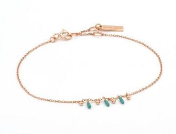 Ania Haie Dotted Triple Drop Bracelet