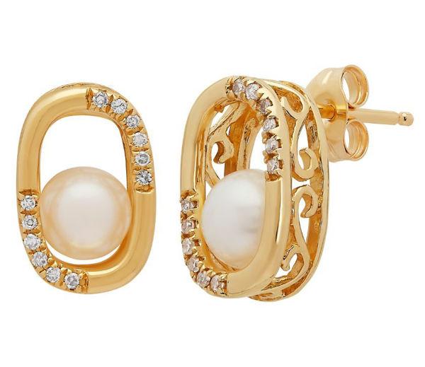 Wanderlust Cultured Pearl Earrings