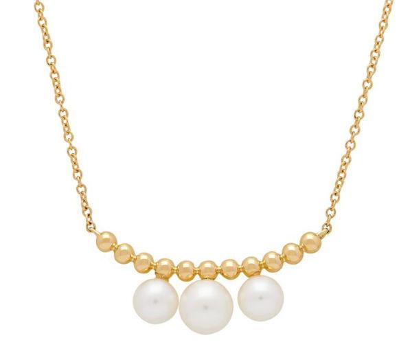 Icon Cultured Pearl Trapeze Necklace