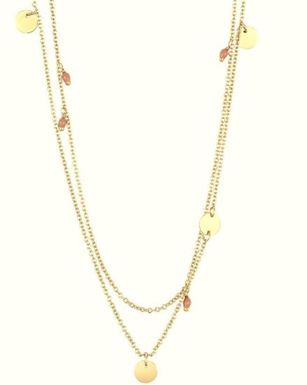 Ania Haie Dotted Doule Necklace