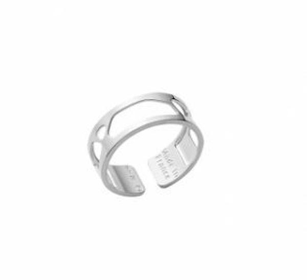 8mm Silver Girage Ring-Medium