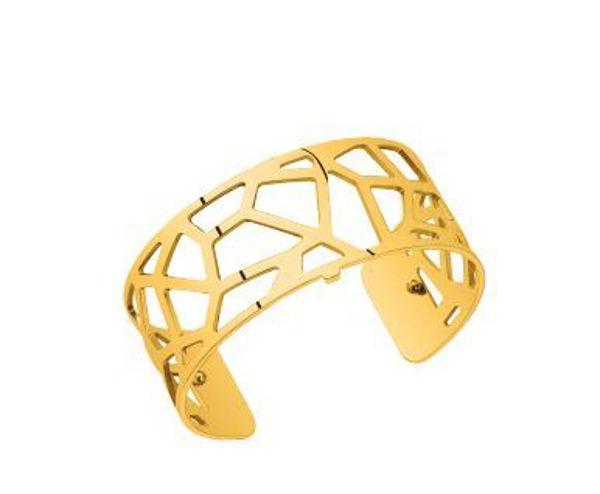 25mm Girafe Cuff Bracelet in Yellow