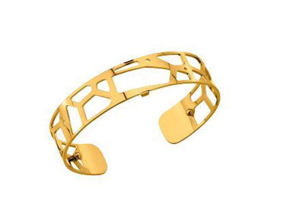 14mm Girafe Cuff Bracelet in Yellow
