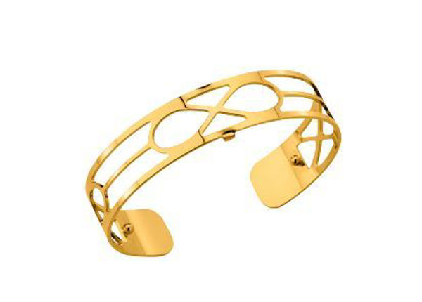 14mm Infini Cuff Bracelet in Yellow