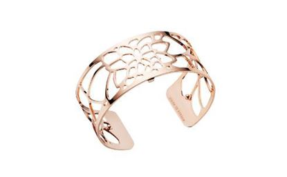 25mm Nenuphar Cuff Bracelet in Rose
