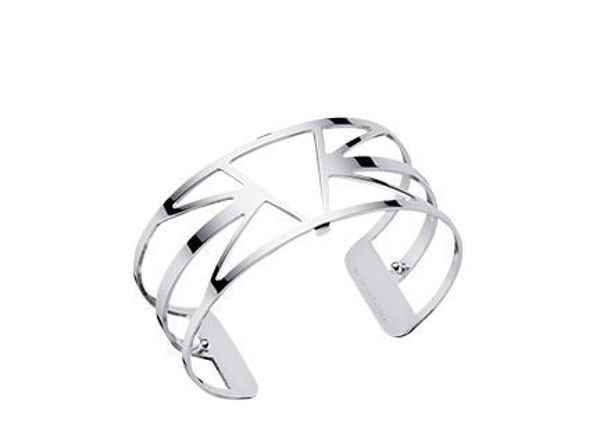 25mm Ibiza Cuff Bracelet in Silver