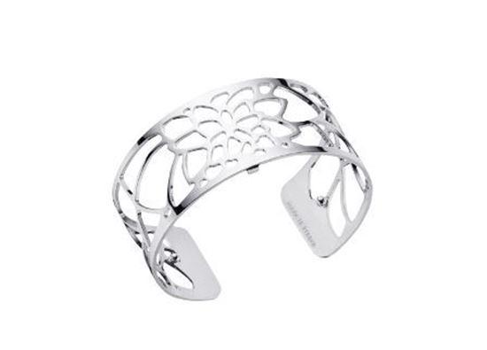 25mm Nenuphar Cuff Bracelet in Silver