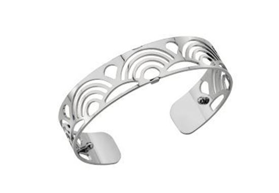 14mm Poisson Cuff Bracelet in Silver