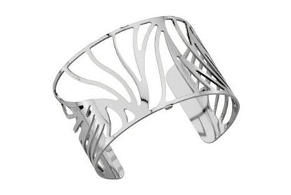 40mm Perroquet Cuff Bracelet in Sivler