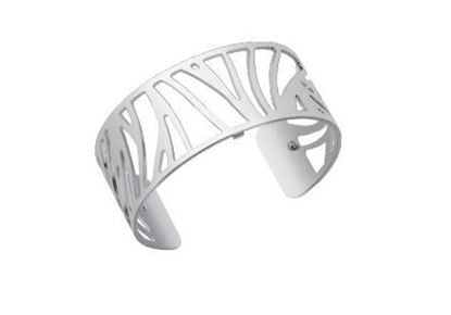 25mm Perroquet Cuff Bracelet in Silver