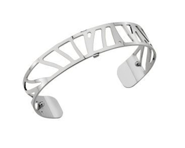 14mm Perroquet Cuff Bracelet in Silver