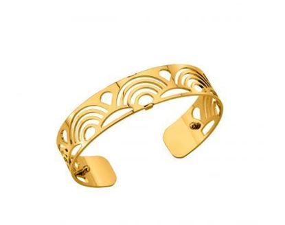 14mm Poisson Cuff Bracelet in Yellow