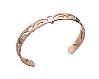 8mm Poisson Cuff Bracelet in Rose