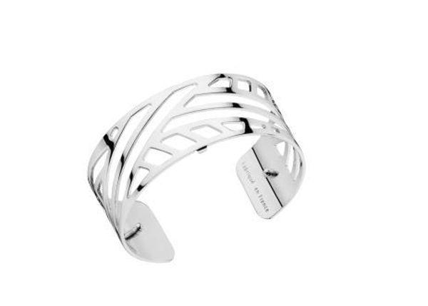 25mm Ruban Cuff Bracelet in Silver