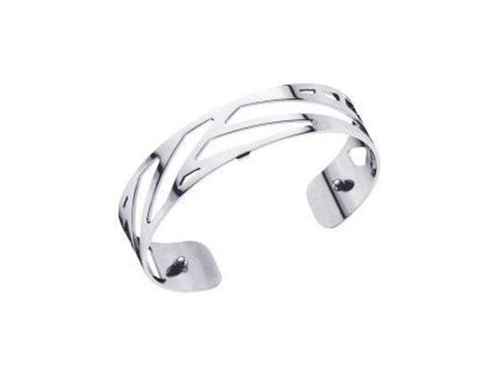14mm Ruban Cuff Bracelet in Silver