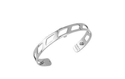 8mm Ruban Cuff Bracelet in Silver