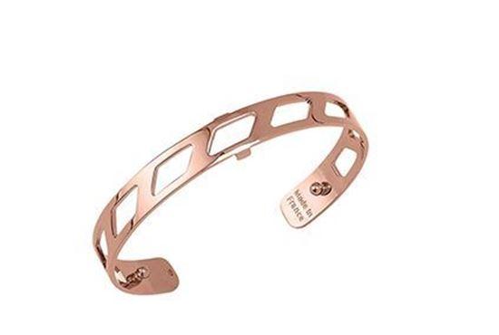 8mm Ruban Cuff Bracelet in Rose