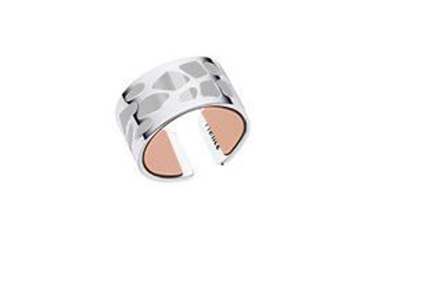 12mm Silver Fougere Ring-Medium