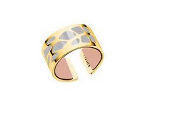 12mm Yellow Fougere Ring-Medium
