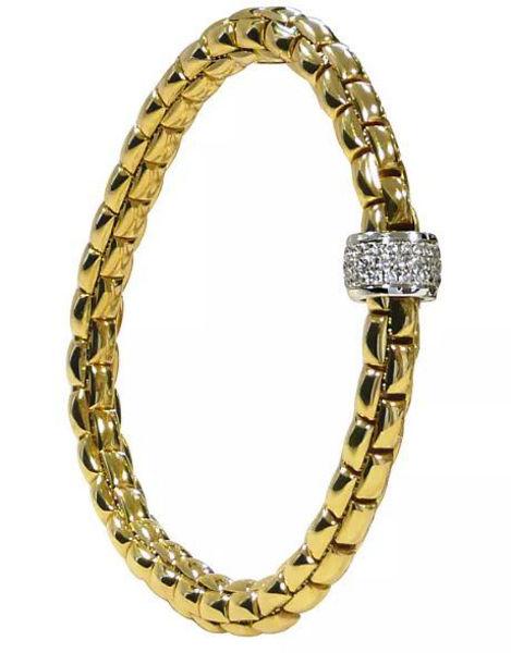 Flex it Bracelet with Diamonds form the Eka collection