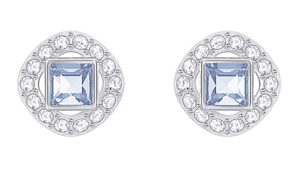 Angelic Square blue earrings