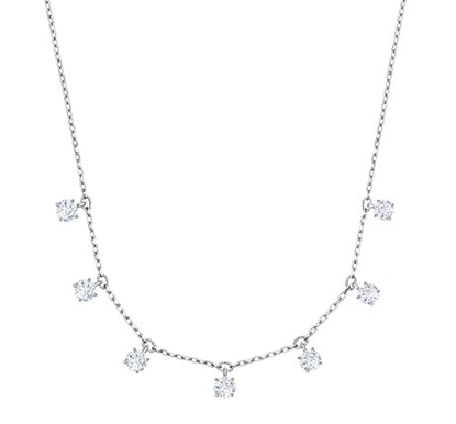 Attract chocker - seven crystals on a chain