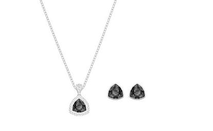 Begin Set - Triangle gray crystals