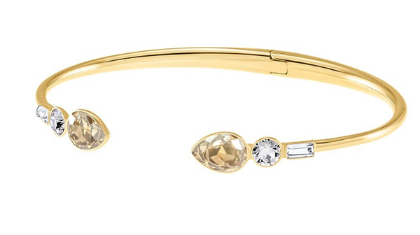 MIX AND MATCH BANGLE, MULTI-COLORED, GOLD PLATING