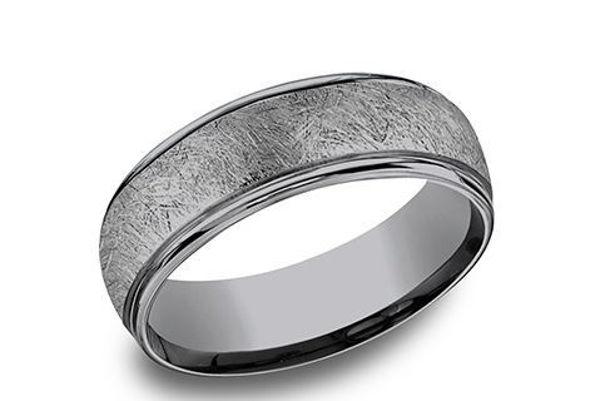 6.5mm Grey Tanalum swirl fiberglass finish band