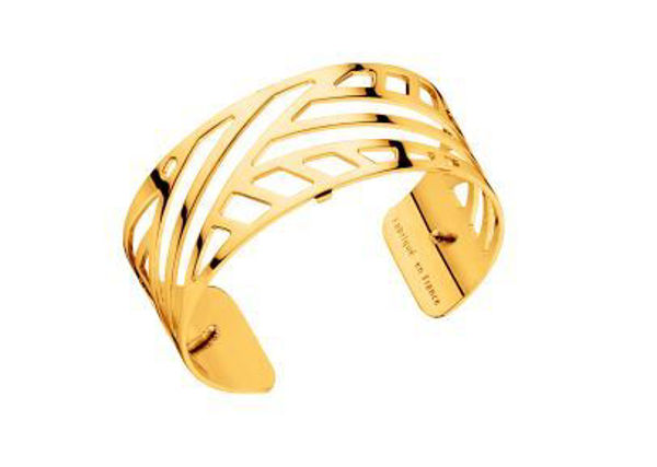 25mm Ruban Cuff Bracelet in Yellow