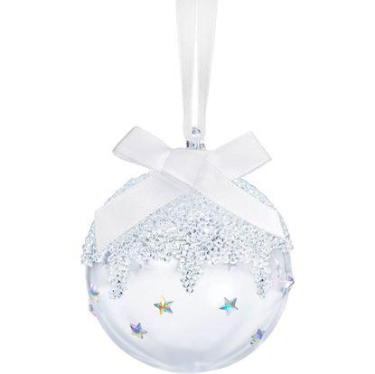 Classic Swarovski Small Christmas Ball Ornament